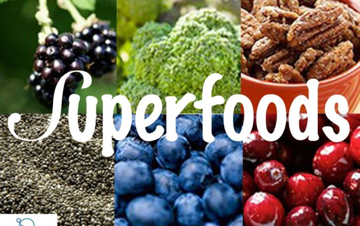 Popular superfoods