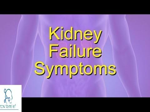 kidney failure symptom